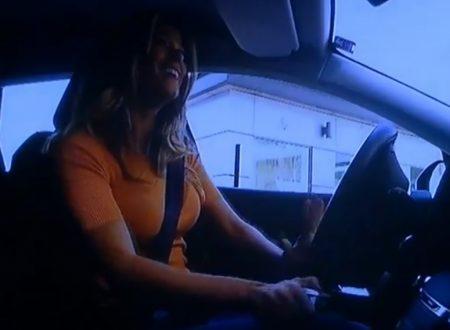 Diletta Leotta al volante
