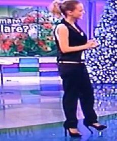 Georgia Luzi e le modelle – Unomattina Storie Vere 13.12.2012