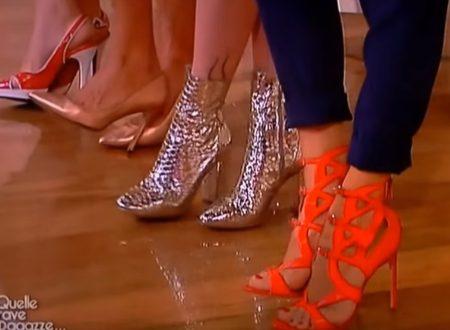 Veronica Maya & Arianna Ciampoli tacchi – Quelle brave ragazze 29.6.2017