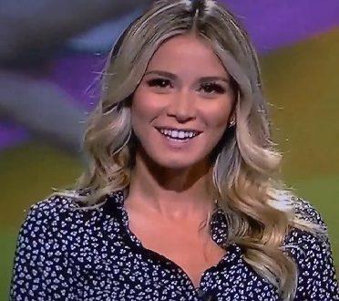 Diletta Leotta Sky Serie B 16.9.2017