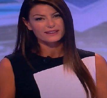 Ilaria D'Amico Sky Calcio Show 17.9.2017