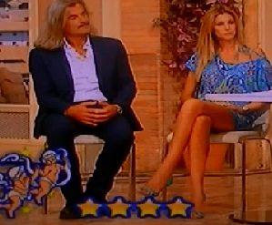 Adriana Volpe – I Fatti Vostri 9.9.2015